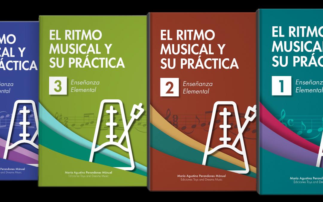COLECCIÓN COMPLETA EL RITMO MUSICAL Y SU PRÁCTICA PARA ENSEÑANZA ELEMENTAL DE LENGUAJE MUSICAL