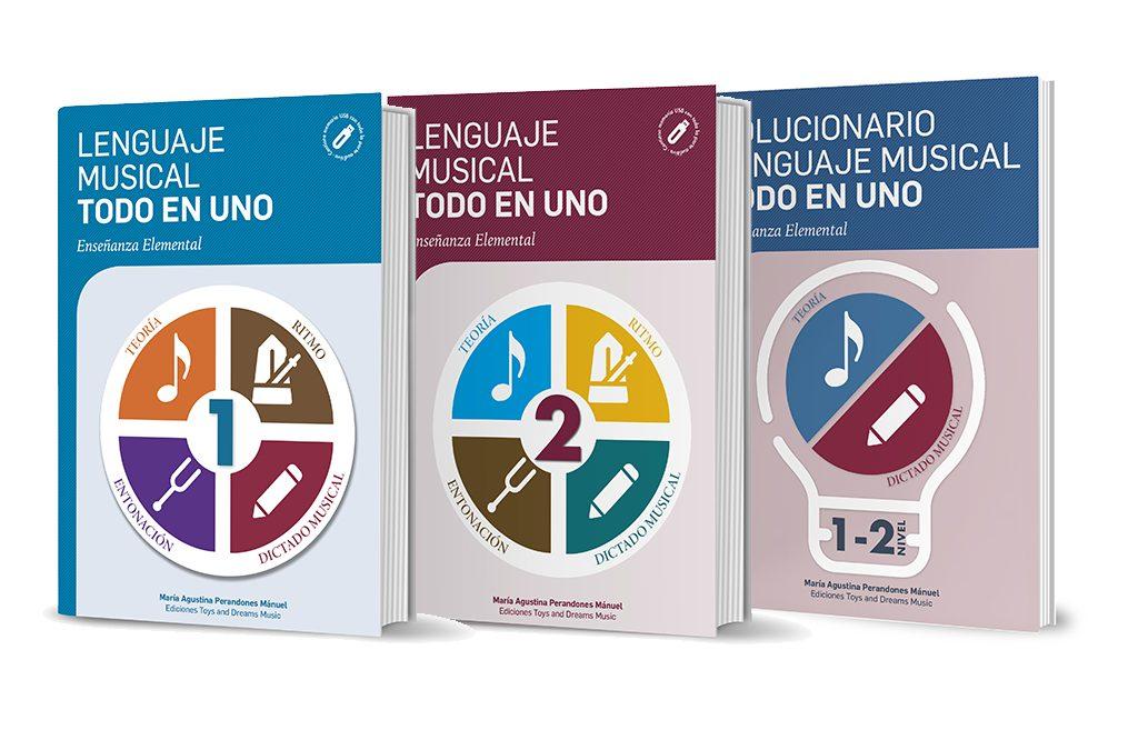 Lenguaje Musical Todo en Uno. 1º y 2º nivel